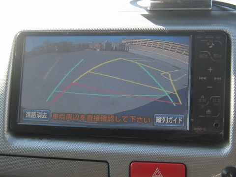 HDDナビゲーションシステム(NHZT-W58G) バックガイドモニター その1