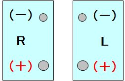 バッテリー端子配置
