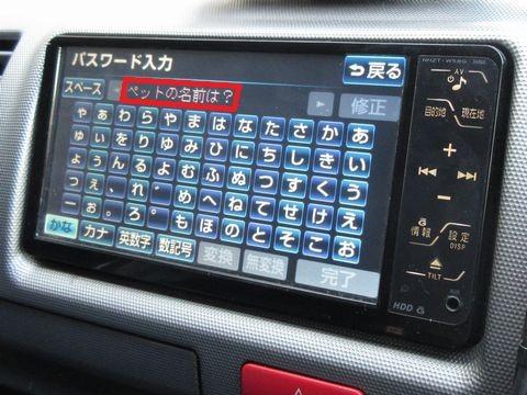 NHZT-W58G パスワード入力