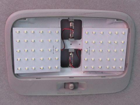 リアルームランプ(LEDパネルの貼り付け)