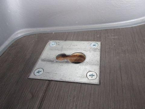 荷室用床板(ベッドキット固定金具)