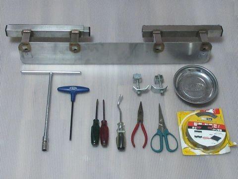 ラダーレシーバーの取り付けに必要な工具類