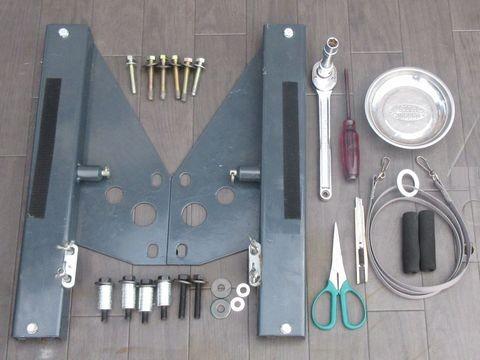 スライドレール取り付けに必要な工具