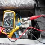 暗電流の計測状況