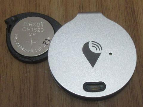 TrackR 電池交換